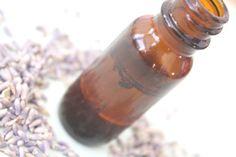 lavender & vanilla perfume