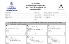 Programlama Temelleri Dersi Vize Soruları ve Çözümleri