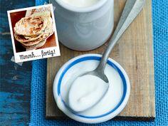 Naan-Brot backen - so geht's Schritt für Schrit - naan-brot-zutaten  Rezept