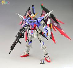 GUNDAM GUY: MG 1/100 Destiny Gundam Remodeling - Customized Build