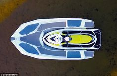 PRO 626 - Utility boat professional boat / jet-ski propelled / rigid hull inflatable boat by Sealver Wave Boat, Rigid Inflatable Boat, Utility Boat, Sun Roof, Crafts With Pictures, Speed Boats, Jet Ski, Camping Accessories, Wakeboarding