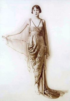 1910s lucile gown