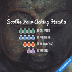 Soothe Your Aching Head 2 - Essential Oil Diffuser Blend