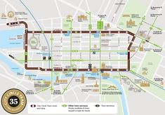 Melbourne free tram zone map Maps Pinterest Melbourne