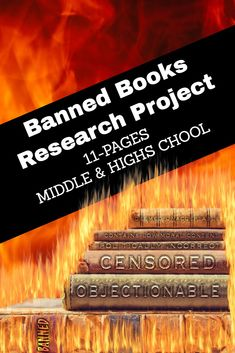 Download and print 'Writing Activity - Banned Books Research Project.' With this project, middle school and high school students explore various facets of book censorship in schools. Click for more details.