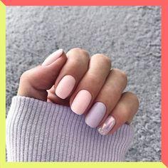 Best Nail Polish Colors of 2020 for a Trendy Manicure Cute Nail Art Designs, Short Nail Designs, Milky Nails, Fall Nail Art, Nail Swag, Super Nails, Nail Polish Colors, Pink Polish, Colorful Nails