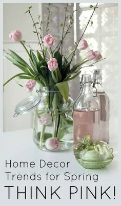 Home Decorating Trends for Spring - Think PINK!