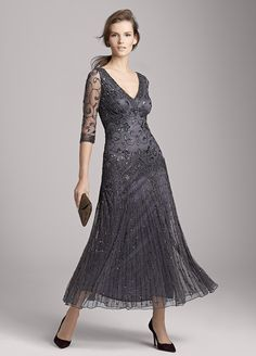 Mother Of The Bride Dresses 2016 Nordstrom With Lace Fabric And Tea Length