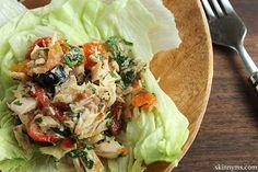 Mediterranean Tuna Salad, a no mayo tuna salad!! #tunasalad #saladrecipes #tunarecipes #healthyrecipes