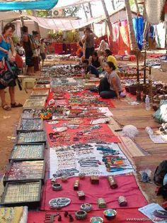 Anjuna market, Goa, India