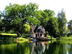 tiny lake cottage
