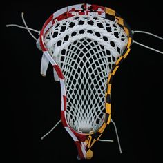 #LacrosseUnlimited Maryland Flag Complete Head