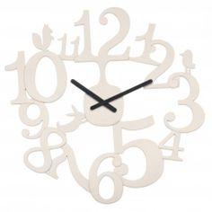 Nástenné hodiny Koziol PI:P šedobéžová, 45cm   nástenné hodiny Clock, Wall, Home Decor, Watch, Decoration Home, Room Decor, Clocks, Walls, Home Interior Design