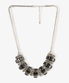 91d45f7d5306 Bejeweled Snake Chain Necklace