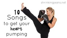 10 Songs to Take Your Cardio Workout to the Next Level #fitness #shrinkingjeans #workout #playlist