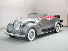 1939 Packard Twelve Convertible Sedan