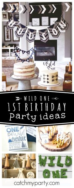 Check out this fun Wild One boho tribal 1st birthday party! The cake is so awesome!! See more party ideas and share yours at CatchMyParty.com