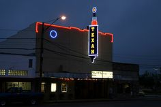 Texan Theater, Cleveland, TX.