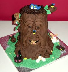 cute Tree cake