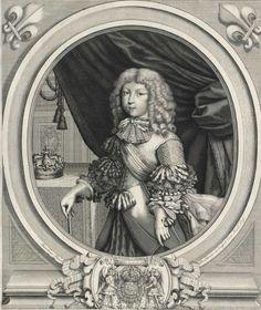 Louis, Grand Dauphin de France, Prince de Viane (1661 - 1711) / Gravure d'après Larmessin.