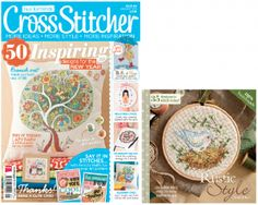CrossStitcher January issue 261 cover and gift