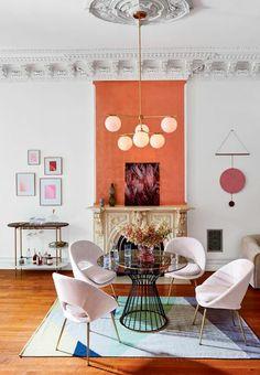 Farbenreiche Wohnu Und Wohnzimmereinrichtung