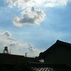 雲:空+屋根