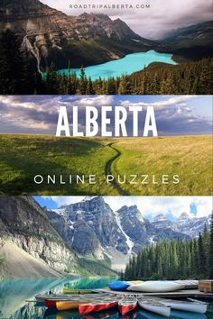 Kill some time by completing these free online jigsaw puzzles of scenes from Alberta Road Trip Bingo, Alberta Travel, Free Online Jigsaw Puzzles, Table Mountain, Online Travel, Bingo Cards, The Province, Free Travel