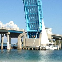 Draw bridge leading to Longboat Key Florida