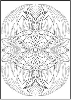 Welcome To Dover Publications Creative Haven Abstract Designs Coloring Book