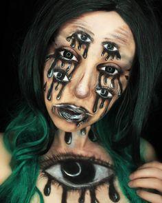 #sfxmakeup #sfx #gore #halloweenmakeup  #eyes #spider @m.e.y.makeup