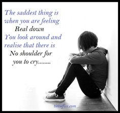 saddest thing is : -heart breaking quotes | tietiefiss.com