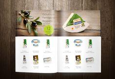 Complete branding for wholesale - Webdesign and branding for premium food importer