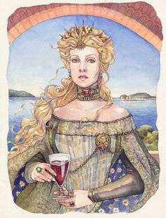 Game of Thrones Lied von Eis und Feuer Cersei von AnneHathawayArt - Game Of Thrones Cersei Lannister, Fantasy Women, Fantasy Art, Game Of Thrones Books, Game Thrones, Character Inspiration, Character Art, Rhaegar And Lyanna, Fire And Ice