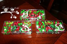 Teacher Gift......candy filled containers with vinyl lettering!