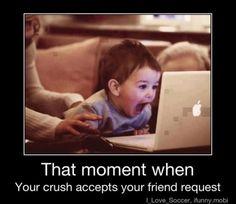 Hahahaha.........Cute Child :D