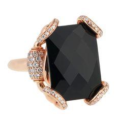 066473ad8 Gucci Horsebit Onyx Diamond Rose Gold Ring - Gucci Jewelry Gucci Jewelry, Rose  Gold Jewelry