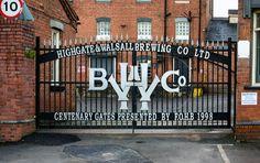 Highgate Brewery Gates, Walsall