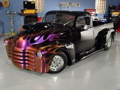 Chevy Custom Pick-Up Truck Hot Rod Trucks, Gmc Trucks, Cool Trucks, Cool Cars, Fancy Cars, Mini Trucks, Custom Trucks, Custom Cars, Buick