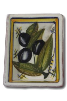 "This Casafina dipping dish is unique, hand-painted and hand-thrown Portuguese stoneware of exceptional quality! It's the perfect size for olive oil and bread dipping and a charming addition to anyone's table!    Measures: 4"" W x 3"" L   Casafina Dipping Dish by D'Accord Boutique. Home & Gifts - Home Decor - Dining West Virginia"