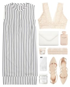 """french riviera"" by martosaur ❤ liked on Polyvore featuring Brunello Cucinelli, Charlotte Russe, Monki, Herbivore, Superior, Native Union, Neiman Marcus, Davines and Elie Saab"