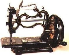 Grover and Baker. love OLD sewing machines