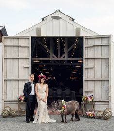 Modern-romantic barn wedding ideas