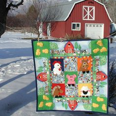 """Children love animals and making their noises. """"Farm Fun"""" is full of those loveable characters. We have a great video tutorial linked here."""