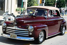 1947 Ford Convertible -- Curated by: Williams Automotive | 1790 KLO Rd. Kelowna | 250-860 2812