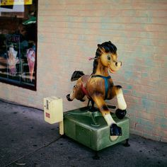 Glenn Sloggett Frankenhorse, 1998 from Cheaper and Deeper