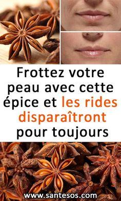 Frottez votre peau avec cette épice et les rides disparaîtront pour toujours#soinsdelapeau #peau #rides #vieillissement