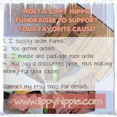 Organic hand made lip balms at www.lippyhippie.com