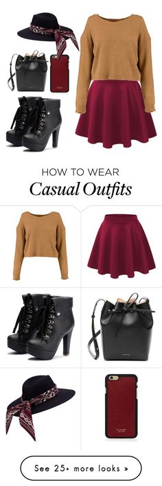 """Casual"" by chap15906248 on Polyvore featuring Mansur Gavriel and Vianel"