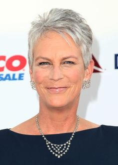 Jamie Lee Curtis Pixie Capless Wig